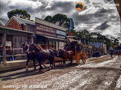 Sovereign Hill at Ballarat - Australian Landmarks - M